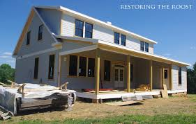 restoring the roost house build progress exterior updates