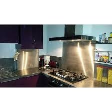 plaque d inox pour cuisine crédence inox sur mesure découpe en ligne