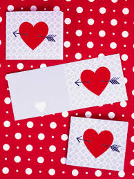 Homemade Valentine Gifts For Him by Handmade Valentine U0027s Day Cards Hgtv