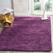 Fuzzy Purple Rug Purple Shag Rugs U0026 Area Rugs For Less Overstock Com