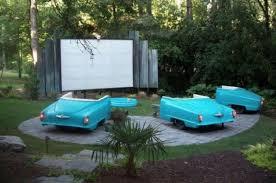 how to make a backyard movie screen outdoor goods