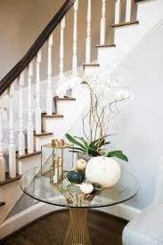 Gold Entry Table Decorate Your Foyer And Entry For Fall Fashionable Hostess