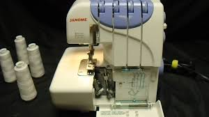 janome harmony 9102d serger sewing machine youtube