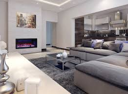 10 amazing electric fireplaces with changing color modern
