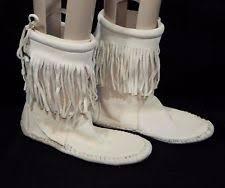 womens fringe boots size 9 flat 0 to 1 2 in s fringe us size 9 ebay