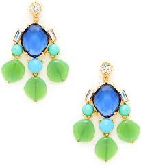 green drop earrings gerard yosca blue green drop earrings where to buy how to wear