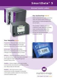 markem imaje smart date 5 thermal transfer