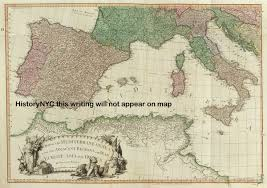 Map Of Spain And Italy by Welcome To Historynyc Historical Maps Poster Books And Custom