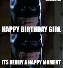 Batman Birthday Meme - happy birthday meme for woman happy wishes