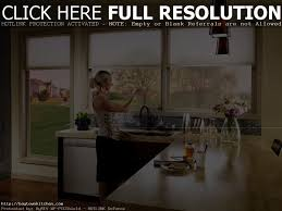 kitchen shades ideas stunning window treatment for kitchen with sink and granite window