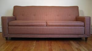 Mid Century Modern Sleeper Sofa by Flatout Design Flexsteel Sofa