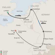 Black Forest Germany Map European Vacation Packages Globus Europe Tours