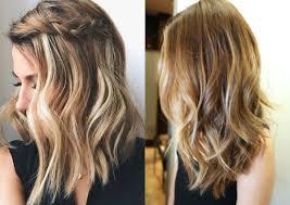 collarbone length wavy hair mid length hairstyles for wavy hair 2016 hair
