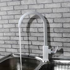 buy kitchen faucet aliexpress buy matte finished kitchen faucet square vessel