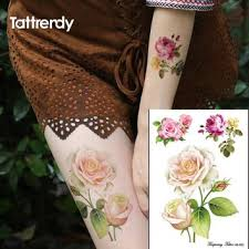best temporary rose tattoo products on wanelo