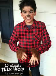 scary halloween costumes for boys boys wolf costume ten minute teen wolf diy halloween costume