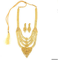 gold rani haar sets 22ct indian gold rani haar necklace set 2306 59 necklace sets