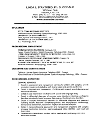 Sample Veterinary Resume by Sample Resume Language Free Resume Example And Writing Download