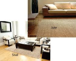 Jute Area Rugs Jute Area Rug Rugs 6x9 Floor Coverings Naturals Textured Ivory