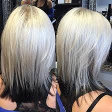 blonde bobbed hair with dark underneath gallery sue s hair salon