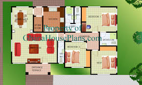 free 4 bedroom bungalow house plans in nigeria