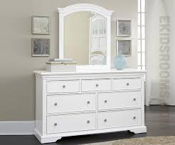 walnut street white seven drawer dresser dressers ne kids