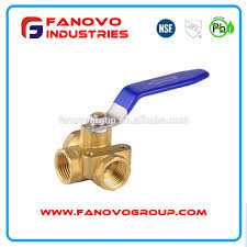 rv water heater lead free brass bypass valve and drain valve