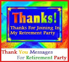 Thank You For Thanksgiving Dinner Messages Thank You Messages Retirement