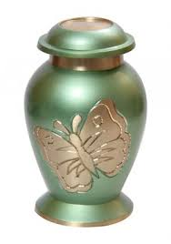 small urns for human ashes limited period lite teal butterfly small cremation urn for ashes