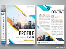 blue abstract shape poster portfolio layout design city design on
