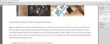 tutorial wordpress com pdf how to convert web page to pdf using web2pdf wpoutcast