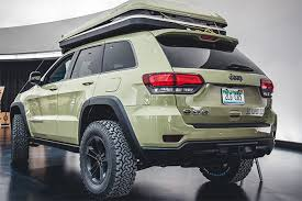 jeep grand cherokee all terrain tires jeep grand cherokee overlander concept is perfect off grid vehicle