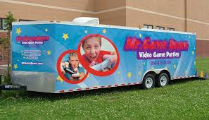 columbus ohio mr game room video game truck party