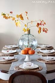 simple thanksgiving tablescape maison de pax