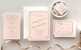 Gold Foil Wedding Invitations Lindsey Bradley U0027s Elegant Pink And Gold Foil Wedding Invitations