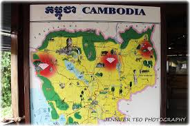 Map Of Cambodia Jennifer Teo U0027s That U0027s Life Photographic Blog Jennifer Teo