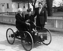 first car ever made henry ford with family in first automobile pictures getty images