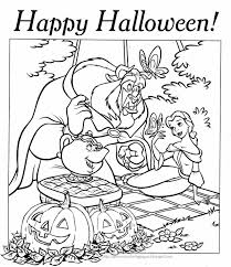 10 free and printable disney princess halloween coloring pages for
