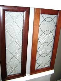 Cabinet Door Glass Insert Kitchen Cabinets Glass Door Insert Kitchen Cabinet With Glass