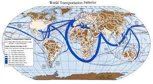 World Map Equator by International Shipping Routes Map Google Search Cape Cod Canal