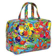 holographic bags holographic hippie large cosmetic bag iscream