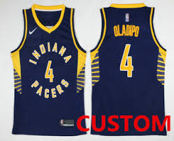 jersey design indiana pacers custom men s indiana pacers new navy blue 2017 2018 nike swingman