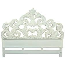 Carved Wood Headboard Carved Wood Baroque Headboard At 1stdibs