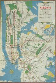 Subway Map by Print New York City Subway Map