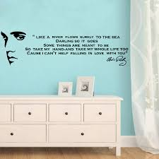 quote to decorate a room like a river flows