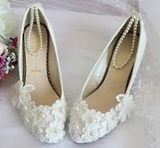 Wedding Shoes Mid Heel Bridal Shoes Low Heel 2015 Flats Wedges Pics In Pakistan Mid Heel