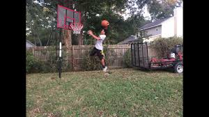 build your own backyard basketball court youtube