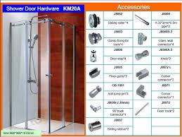 frameless glass sliding shower door shower enclosure km20a shower