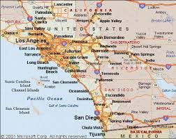 map of west coast california map travel holidaymapq