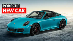 miami blue porsche porsche 911 targa 4 gts sportdesign miami blue youtube